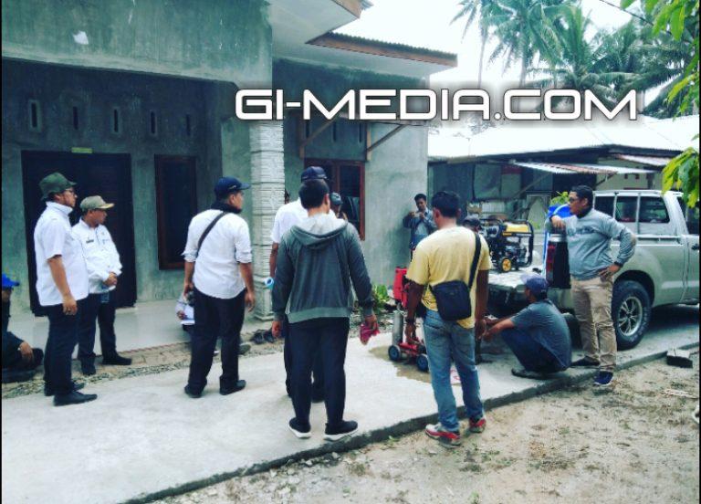 BPK RI Lakukan Pemeriksaan Fisik Pembangunan Jalan Di Kecamatan Padang Hulu