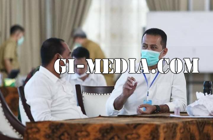 Usai Gelar Silaturahmi Bersama Pimred, Gubsu Edy Sampaikan Mohon Maaf Akan Memotongan 50 % Tunjangan Pegawai