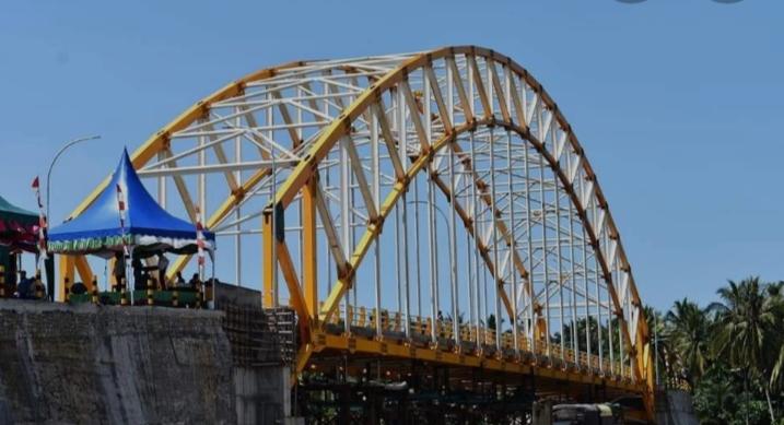 Belum Setahun, Jembatan biaya 52 M di Tapteng Sumut Rusak dan Kerap Mengalami Perbaikan