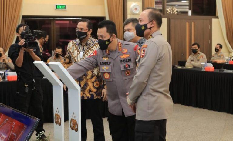 Kapolri Launching Aplikasi Pengaduan Masyarakat