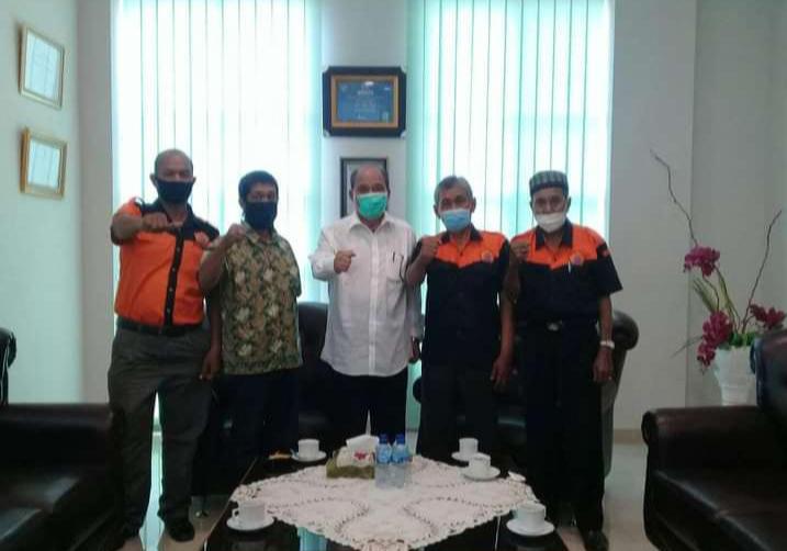 Terkait Kesejahteraan Pedagang, DPP  ASPEK Tebingtinggi Bangun Koordinasi ke Walikota Umar