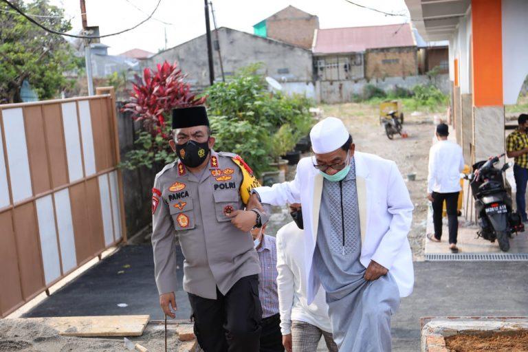 Jelang Lebaran, Kapoldasu Silaturahim ke Ponpes Al-Kautsar Al-Akbar  