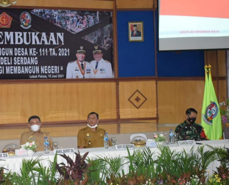 "TMMD 111 Kodim 0204/DS, Bupati DS ""   Kokohkan Kemanunggalan TNI-Rakyat """