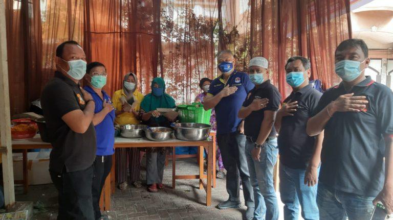 Ketua Pewarta Apresiasi  Pembukaan Dapur Umum  Peduli Dampak Covid-19