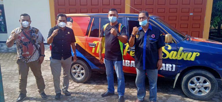 PSP Berderma II, Ketua DPD GP Nasdem Tebingtinggi Melepas Juri Atlit Muaythai Ke PON XX Papua