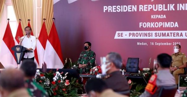 Jokowi Beri Arahan Pada Forkopimda Sumut