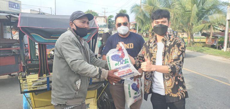PSP Berderma II, DPD GP NasDem Kota Tebingtinggi Kembali Berbagi Ke Abang Becak