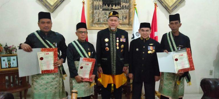 Wakil Ketua DPRD H.M.Azwar.S.S.I.MM Terima Gelar Dato' Dari Kerajaan Aceh Darussalam